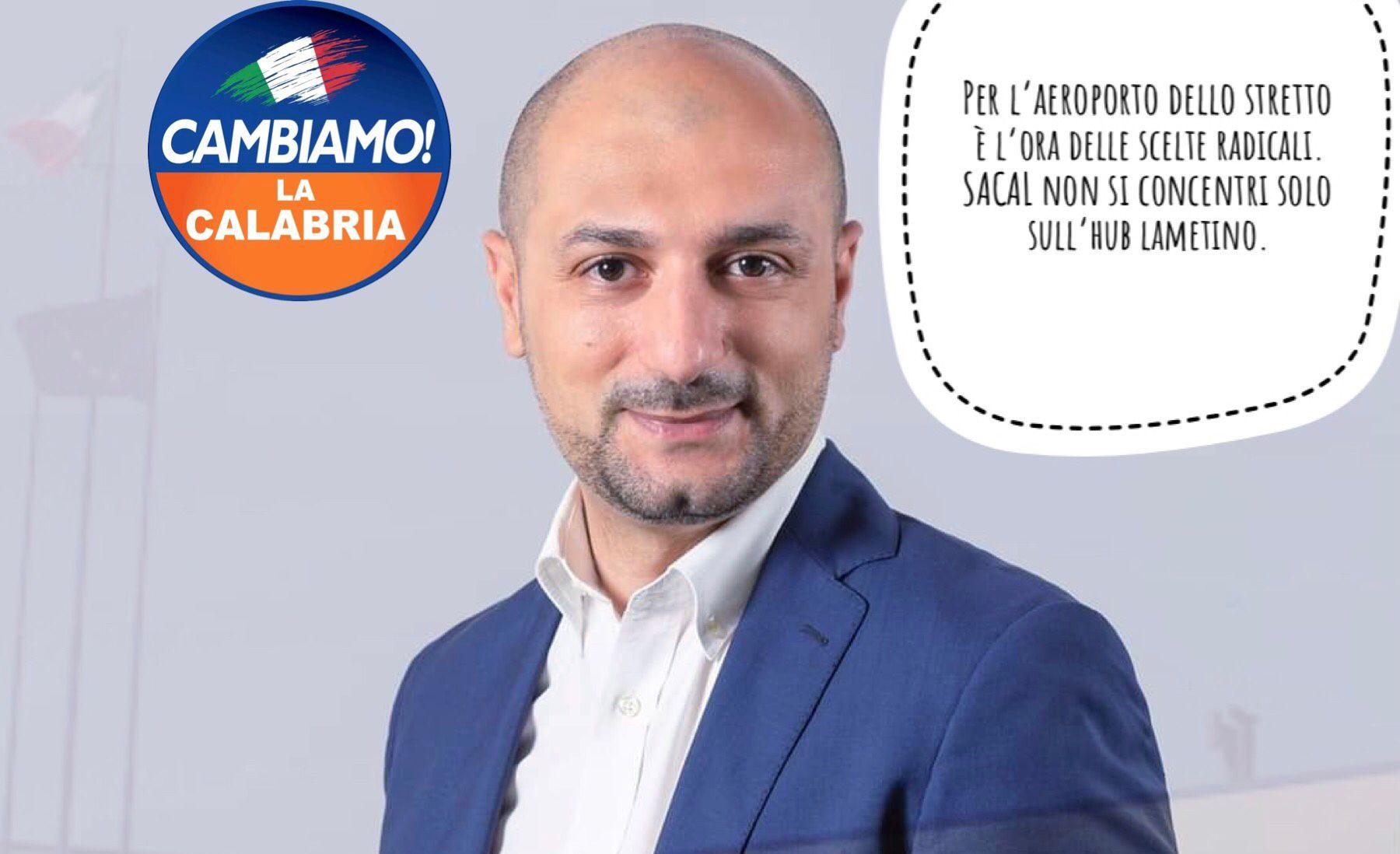 Imbalzano: «Per l'aeroporto di Reggio è l'ora delle scelte radicali»