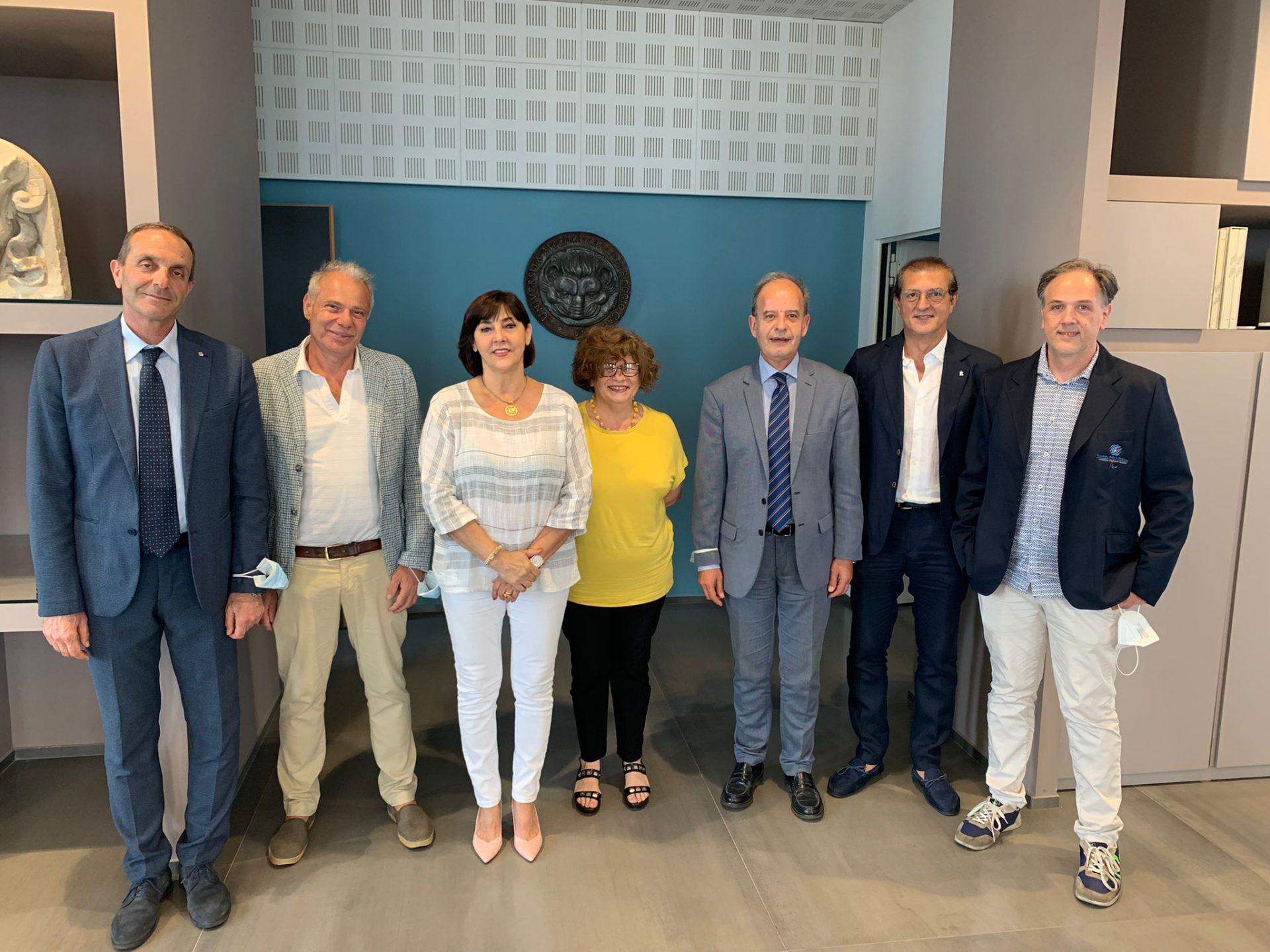 L'università Mediterranea firma un protocollo d'intesa con il comitato italiano paralimpico
