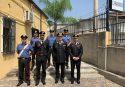 Il generale Cavallo in visita ai carabinieri di Melito, Bianco e Africo