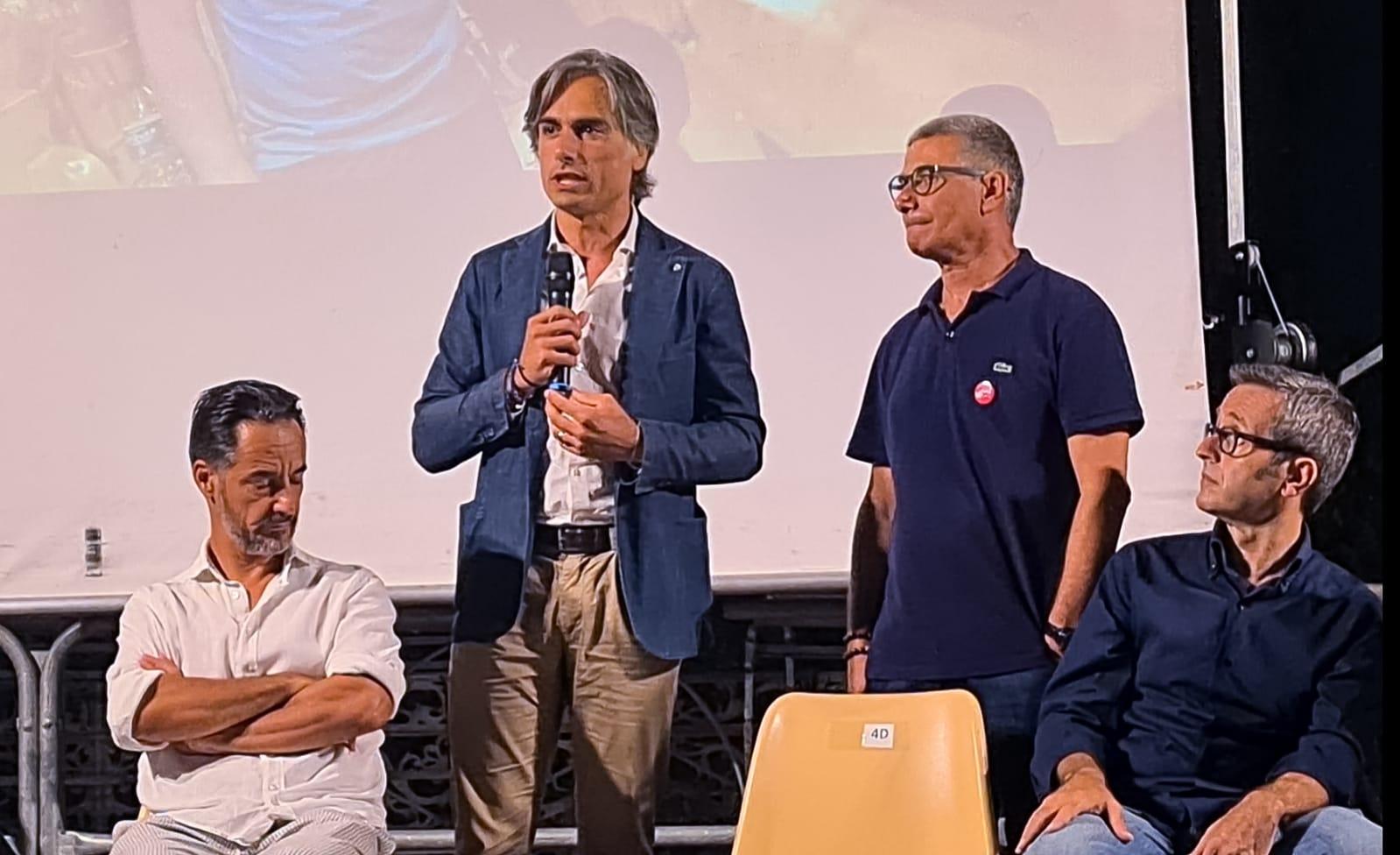 Falcomatà a Palmi per la presentazione di ResQ – People Saving People: «Messaggio di speranza da amplificare e replicare»