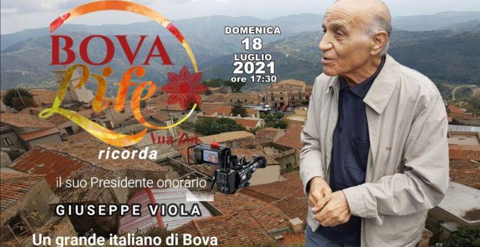 Domani a Bova, il ricordo del presidente Giuseppe Viola