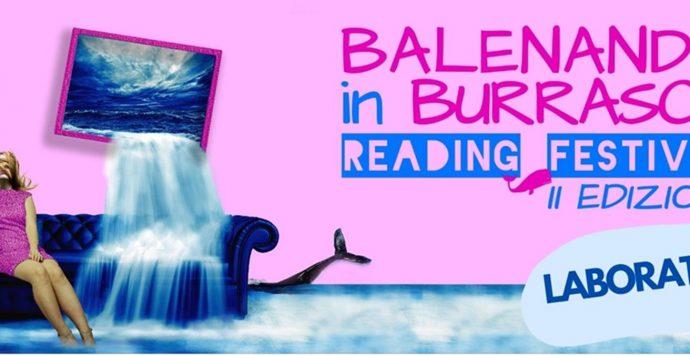"""Reggio, al via la seconda edizione del """"Balenando in Burrasca Reading Festival"""""""