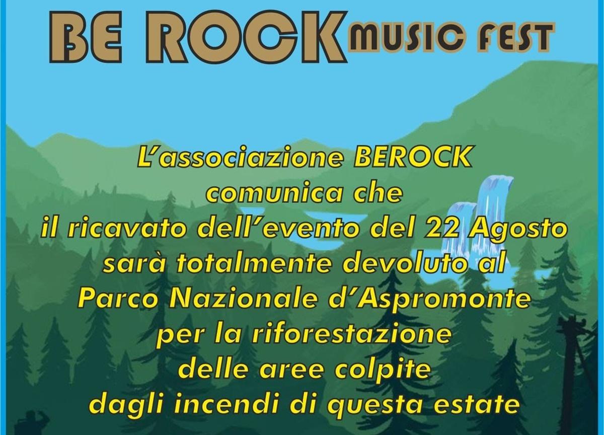 """Molochio, il """"Be rock"""" si tinge di beneficenza: il ricavato servirà per la riforestazione"""