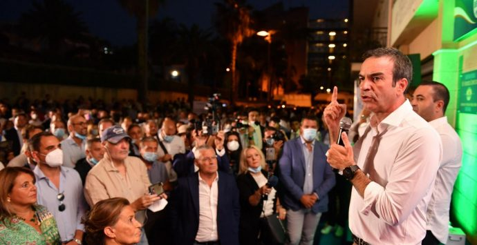 Regionali Calabria, Occhiuto: «Reggio motore della rinascita»