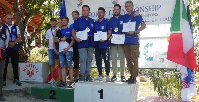 Tiro a palla combinato a 50 metri, i reggini Filippo e Monica Neri sono campioni del mondo