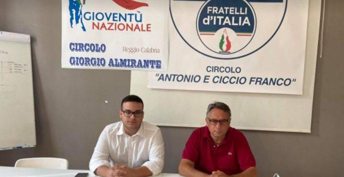 Regionali, Marziale incontra i militanti di Gioventù nazionale di Reggio Calabria
