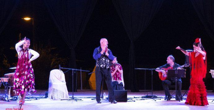 """Il Flamenco della compagnia Algeciras chiude """"PalmiDanzaEstate"""""""