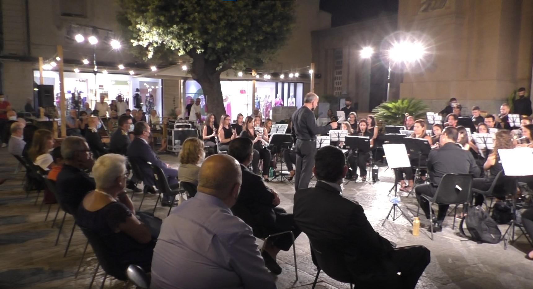 Reggio, concerto dell'orchestra dei Fiati Giuseppe Scerra di Delianuova in memoria di Luigi De Sena