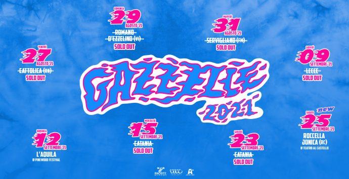 Roccella Summer Festival, Gazzelle raddoppia. Sold out in poche ore i biglietti per il primo concerto