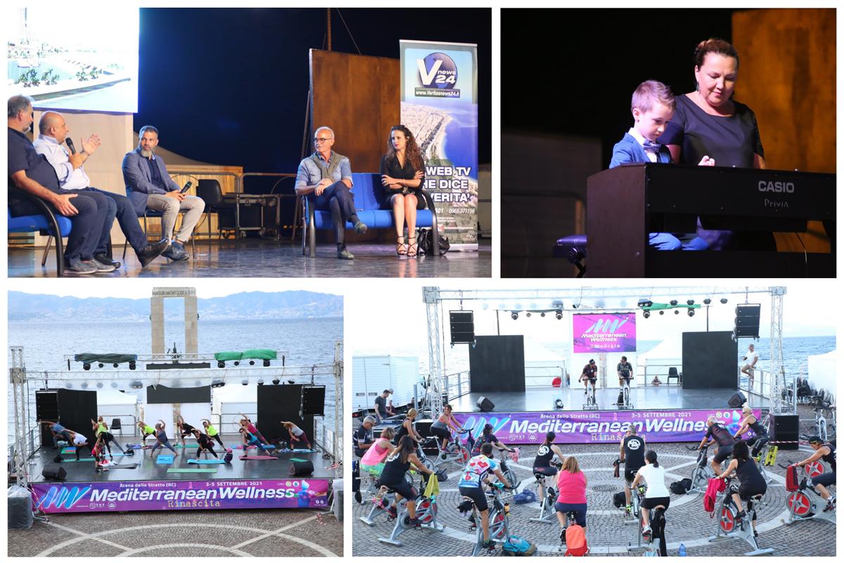 """Reggio, grande successo per l'evento sportivo-culturale e sociale """"Mediterranean Wellness – Rinascita"""""""