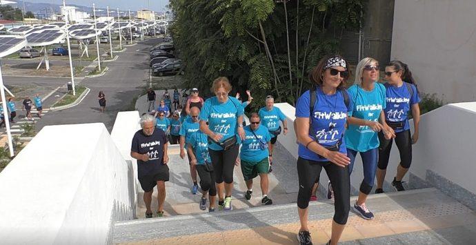 """""""Fitwalking for Ail"""", sul Lungomare i colori della quinta edizione della camminata solidale"""