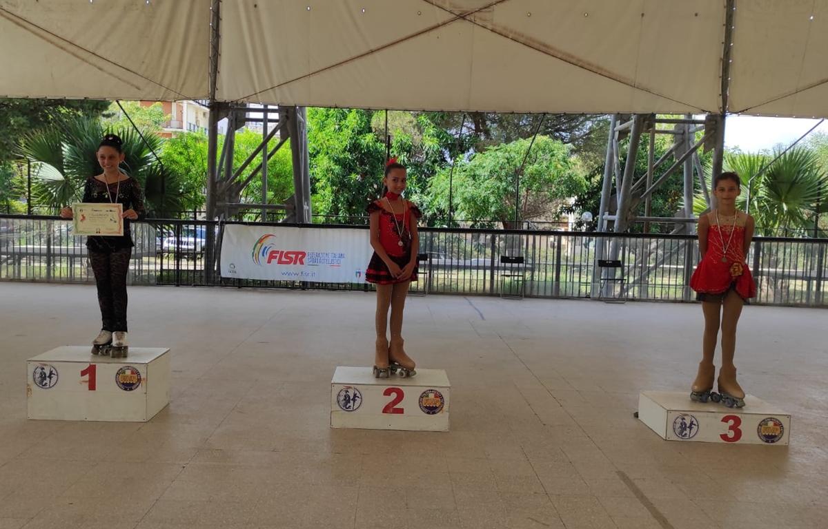 """""""Esordienti disciplina solo dance"""", la piccola Athena Saraceno è campionessa regionale"""