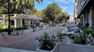 Viabilità sulla via Marina di Reggio, dopo l'isola pedonale si torna al passato