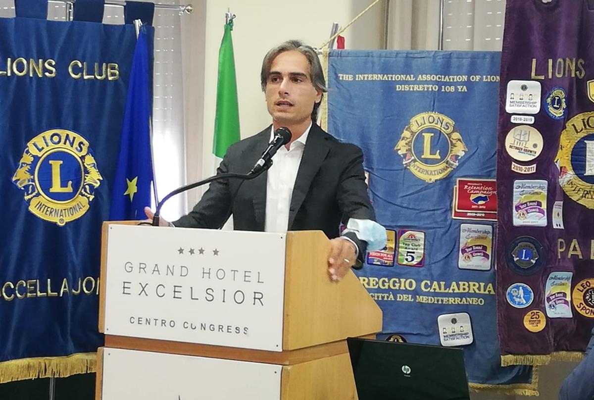 Raduno Lions 108, Falcomatà: «Consolidare unione fra istituzioni, associazioni e club service»