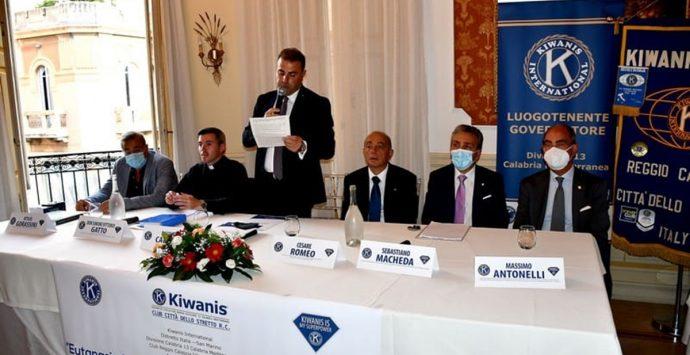 """Il Kiwanis club premia il Gom con il """"Bergamotto d'argento"""""""