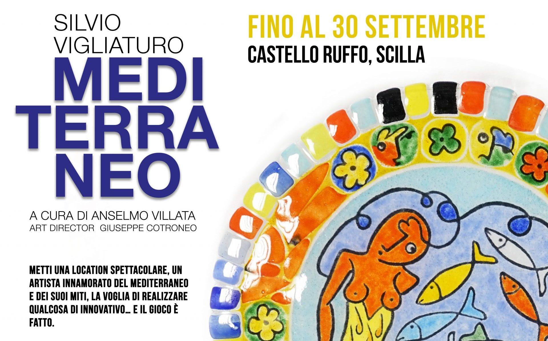 """Scilla, la mostra """"Mediterraneo"""" è stata prorogata fino al 30 settembre"""