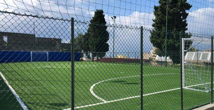 Reggio, completati i lavori di riqualificazione del campetto e della palestra dell'Istituto Panella