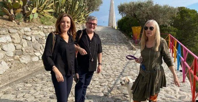 Mammola, Spirlì e Lucia Borgonzoni in visita al Musaba