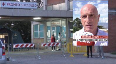 Riapre oggi il Pronto Soccorso di Gioia Tauro, l'Asp: «Soluzione tampone ma resta l'emergenza»