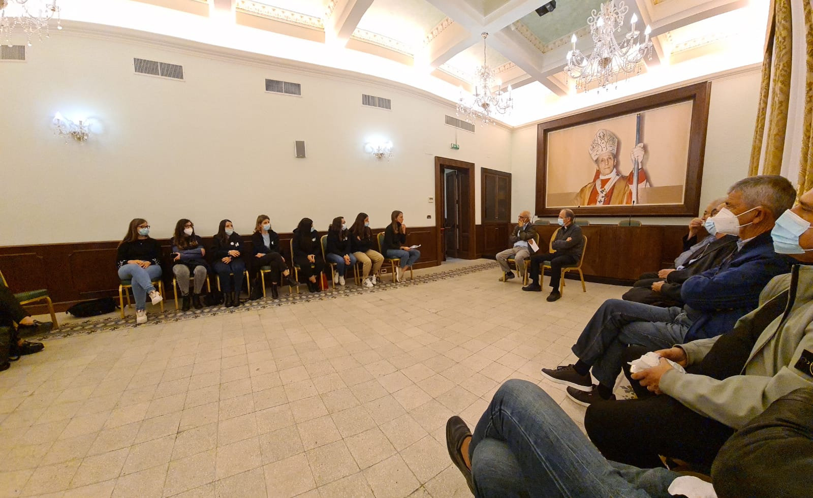 Reggio, il centro Agape incontra il vescovo Morrone
