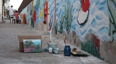A Bovalino nasce la via degli artisti. «Recuperato un luogo lasciato al degrado»
