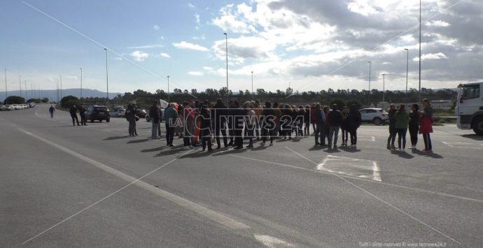Green pass al Porto di Gioia Tauro, protesta poco partecipata. «Non c'è stata solidarietà tra lavoratori»