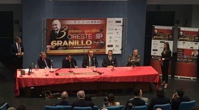 Reggio, Premio Granillo a Mauro Balata e all'ex centrocampista amaranto Roberto Baronio