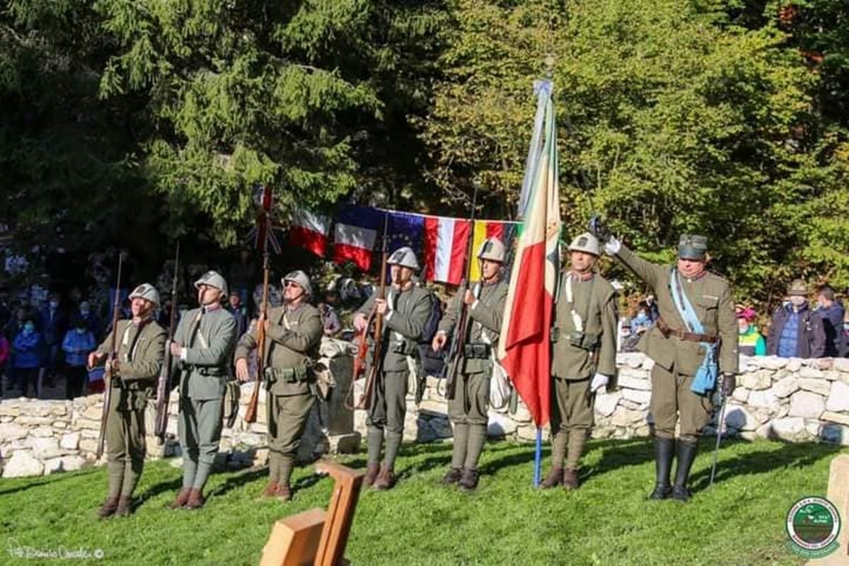Recuperato il cimitero di guerra del Monte Caston, emersa la sepoltura di un soldato di Molochio