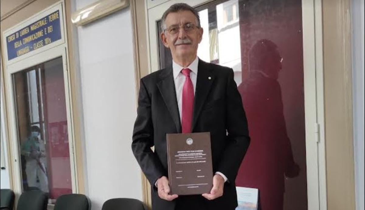 Il reggino Gennaro Cortese a 71 anni ha conseguito ieri la sesta laurea