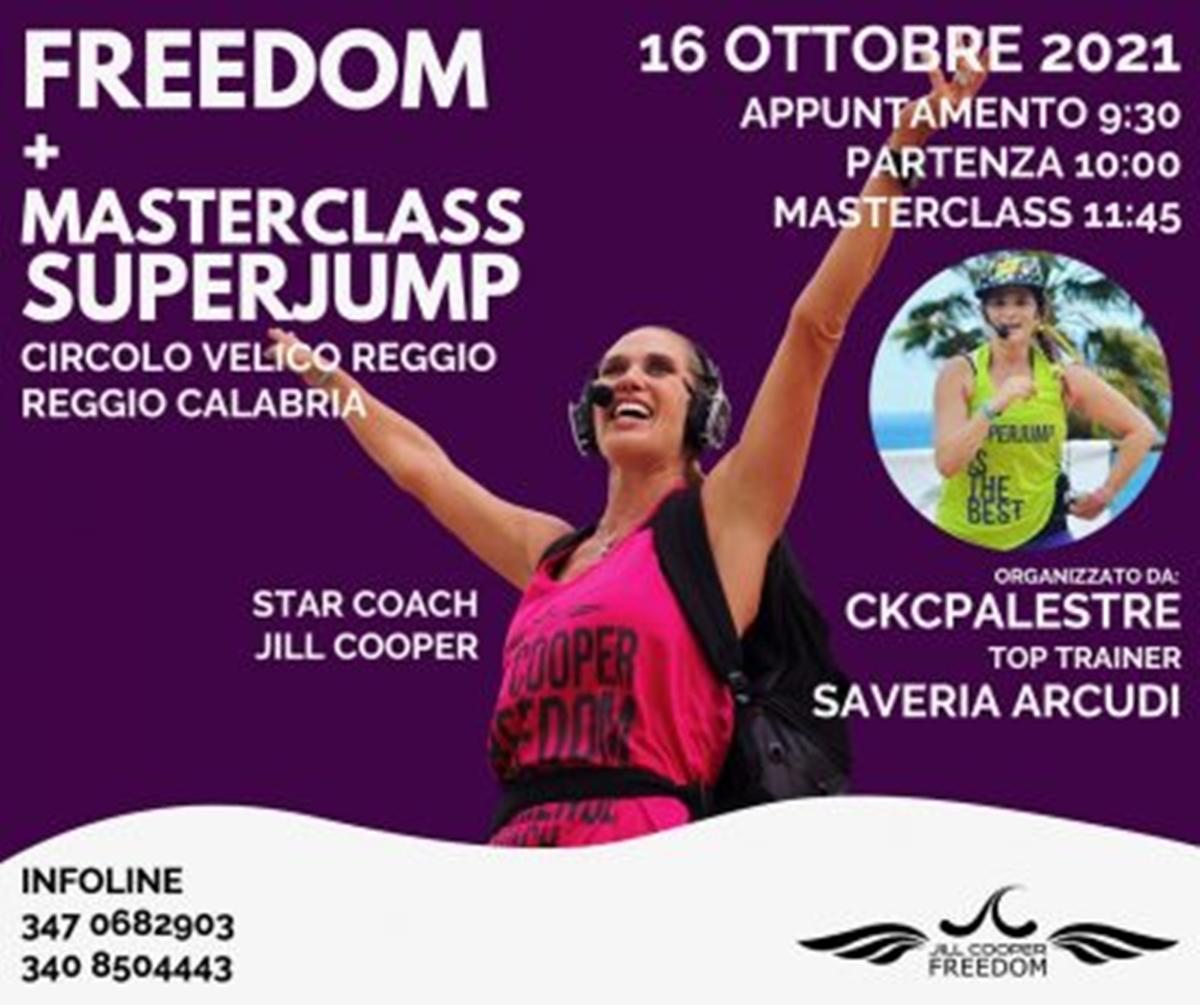 Fitness, a Reggio ritorna l'evento della Jill Cooper Academy