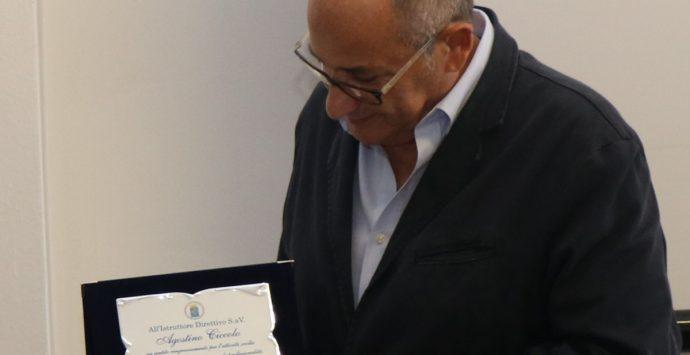 Polizia locale, il saluto ad Agostino Ciccolo: in pensione dopo 35 anni di servizio
