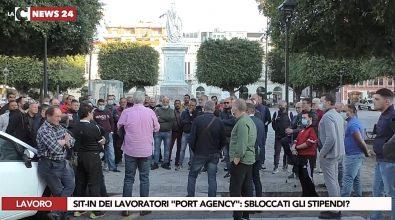 Lavoratori della Port Agency senza stipendi. Dopo il sit-in si aspetta la risoluzione